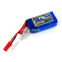 Wholesale Micro Metal Rc Helicopter - 7.4V 2S 400mAh 25C Ultralight LiPo Battery 5C Fast charge For RC hobby micro flyer High rate battery wholesale toy parts