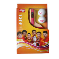 Wholesale Raquets Tennis - Table Tennis Raquets Totipotent Two Sided Inverted Rubber Short Handle Penhold With Two Goals Odd Installation Hot Sell 20dn J1