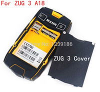 Wholesale Mann Zug3 - Wholesale-2014 New Original MANN ZUG3 Battery cover case For MANN ZUG 3 A18 Quad core Mobile phone Free shipping