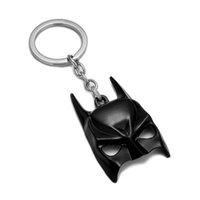 Wholesale dark knight car - Batman Dark Knight Mask Key Chain Movie Jewelry Alloy Car Key Rings & keychain Holder Keyring For Gift