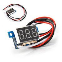 Wholesale Dc Digital Amp Meter Green - DC 10A Voltmeter Ammeter Red LED Amp Dual Digital Volt Meter Gauge