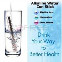 nano palo de agua alcalina al por mayor-Eco-Friendly 1.7 * 14cm de agua alcalina palillo alcalino del agua varita nana palillo de energía iónica agua de cola Electrodomésticos 2016
