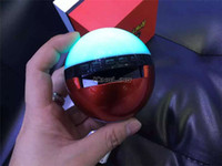 Wholesale Magic Ball Bluetooth - Poke Mon Bluetooth Speakers Wholesale Colorful Night Light LED Dance Magic Pokeball Elves Ball Wireless Stereo Music TF card MP3 Subwoofer