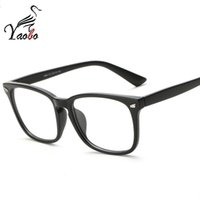 Wholesale Read Design - Yaobo Brand Design Fashion square Women Eyeglasses Frames men Computer Reading Spectacle Optical Frame Eye Glasses