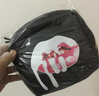 Wholesale Wholesale Shipping Barrels - Kylie Jenner Makeup Bag Birthday Collection Makeup Bag Kylie Lip Kit Bag Holiday Collection Silver Free shipping