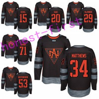 Wholesale Brandon Saad Jersey - North America 2017 World Cup Ice Hockey Jerseys 15 Jack Eichel 20 Brandon Saad 34 Auston Matthews 53 Shayne Gostisbehere 71 Dylan Larkin