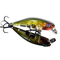 Wholesale Cool Fishing Lures - TSURINOYA Durable Cool DW29 Outdoor 42MM Fishing Lure Hard Fishing Lure Crank Bait 10 Colors Fish Lures 3D Eyes Lures 2529004