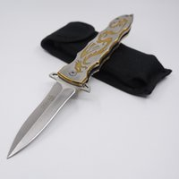 Wholesale swiss army knife self defense online - SOG Pocket Knife Camping Hunting Folding Swiss Army Knife Steel Blade Material Multi Tool Tactical Survival Knives With Nylon Jacket