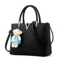 Wholesale Lady Leisure Bags Women Handbags - New Arrival 2017 Women Fashion Handbags Pu Leather Shoulder Lady Bags Messenger Big Leisure Handbag for Women