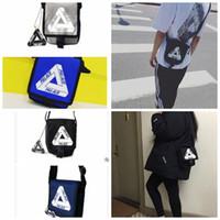 Wholesale Wholesale Reva Flats - triangle Skateboards bag Flat Sack Shoulder Man Bag triangle student postman messenger shoulder bag 4 color KKA3098