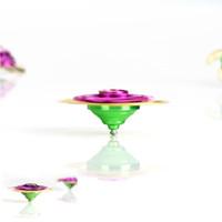 placas mágicas venda por atacado-Pequeno, puxe, topo, puxe o dente, parte superior mágica, giroscópio chapeamento de metal, Yiwu vender brinquedos quentes