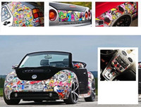 "Wholesale Door Paper - 1pcs Panda bomb decals stickers packaging table graffiti car 60 ""x 20"" JDM paper"
