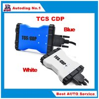 Wholesale Diagnostic Tools Gm Cars - Top Selling 2014.R2 with keygen TCS cdp pro plus Blue white car truck Diagnostic tool Multi-language same as MVD