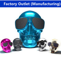 Wholesale Cheap Plastic Skeleton - 2017 wholesale and retail high quality cheap  skeleton Bluetooth speaker wireless subwoofer cool sound quality belt NFC good gift +