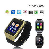 ZGPAX S8 Android 4.4 Smart Watch Téléphone GSM GPS MTK6572 Dual Core 512 Mo 4 Go 2.0MP Appareil SIM 3G WiFi Bluetooth 4.0 WCDMA 1.54 pouces Smartwatch
