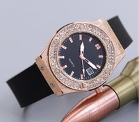 Wholesale Top Silicone Watch - Gold Wrist Watch Women 2017 Top Brand Luxury Famous Female Clock Quartz Clock Golden Wristwatch Quartz-watch Relogio Masculino