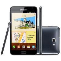 samsung telefon s7562 toptan satış-Yenilenmiş Orijinal Samsung Galaxy Not N7000 5.3 inç Çift Çekirdekli 1 GB RAM 16RM ROM 8MP 3G Unlocked Android Cep Telefonu Ücretsi ...