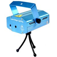 Wholesale Dj Lazer Lights - Wholesale- Blue Mini Lazer Pointer Projector Light DJ Disco Laser Stage Lighting AC110-240V For Party Entertainment Disco Show Club Bar Pub