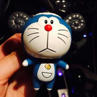 Wholesale Dora Car - The twelve zodiac jingle Doraemon Dora a dream car air outlet perfume pendant cute cartoon clip