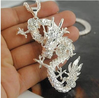 Wholesale Chinese Jewelry Wholesalers - Wholesale - Fashion Chinese Dragon Pendant Necklaces Fashion Jewelry P067