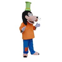 Wholesale Christmas Dog Product - Goofy dog Mascot costume circus mascot Plush Cartoon Character real picture Products customized Halloween Christmas free shipping