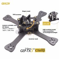 Wholesale DIY FPV mini drone GEPRC GEP TX chimp quadcopter k carbon fiber frame mm main lower plate better than QAV X QAVR