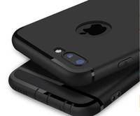 weiche fälle für iphone 5s groihandel-Luxuxmatt dünner weicher TPU-Kasten Anti-Staub für iPhone x xs max xr 8 7 6 6S plus 5S Fall-volle rückseitige Abdeckung