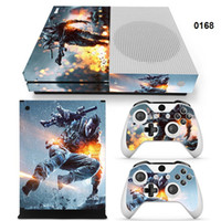 Wholesale Xbox Vinyl Decals - Vinyl skin sticker decal cover for Xbox one S console