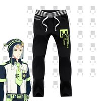 Wholesale Dramatical Murder Cosplay Costume - Wholesale- DRAMAtical Murder DMMd Noiz Casual Trousers Cosplay Pants Cosplay Costume