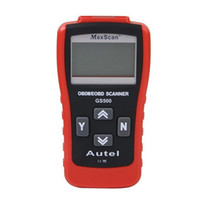 Wholesale Audi Computer Scanner - GS500 Car Repairing Tool OBD2 OBD2 Scanner Car Computer Vehicle Diagnostics Tool Auto Code Reader Scanner