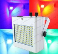 Wholesale Party Supplies Disco - Voice Control LED Strobe Light 4 Color Change RGB Effects Stage Lighting Disco Lights For DJ KTV Party Supplies MYY
