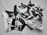 Wholesale Cbr Fairing Kit Purple - INJECTION MOLD black white kit Fit For HONDA CBR929RR 00 01 2000 2001 CBR 929 RR 2000-2001 00-01 ABS Customized Fairing Plastic Bodywork Set