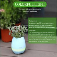 Wholesale New TOKQI Bluetooth Smart Touch Music Flowerpots Plant Piano Music Playing K3 Wireless Flowerpot whitout Plants