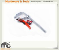 Qualità Expert 120x300mm Pesante Duty All Steel Accelerazione rapida Ratcheting F Bar Clamp Ratchet