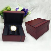 Wholesale Decorative Wood Storage Boxes - Brand Solid Wood Box Cross Grain Jewelry Watch Display Organizer Storage Case Container Decorative Wooden Beauty Gift Boxes