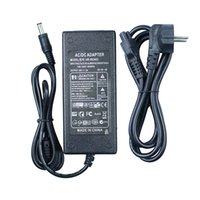 Wholesale Universal Power Adapter Supply Eu - AC100-240V to DC 24V 2A EU Plug AC DC Power adapter charger Converter Adapter Power Supply for LED Strip Light CCTV 5.5mm 2.5mm
