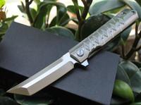 cuchillo plegable al por mayor-El nuevo matador D2 de acero 58-60HRC Dibujo cuchillo plegable que acampa cuchillo de caza cuchillo plegable 1 unids envío gratis