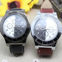 Wholesale cigar watches resale online - 2015 Windproof Cigar LightersUSB Lighter Charging sports casual quartz Watches wristwatches USB lighter watch lighter
