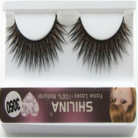 Wholesale Shilina Eyelashes - SHILINA Natural Mink False Eyelashes 1-1.5cm Long Fake Synthetic Hair False Eyelashes Extensions with Casual Makeup