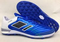 Wholesale Indoor Soccer Teams - 2017 Cheap Mundial Team Modern Craft Astro TF Turf Soccer Shoes Football Boots Soccer Boots Mens Soccer Cleats for Men