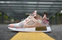 Wholesale Birds Breed - NMD XR1 Duck Camo Pink White Olive Green Blue Camo OG Bred Blue Bird Zebra Running Shoes Womens Mens Nmds Runner Size 36-45