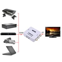 HDMI al adaptador video del convertidor video compuesto de la mini CVBS RCA AV TV vieja 1080p HRCA para la cámara HD DVD