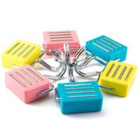 Wholesale Hangers Magnets - 5pcs key hanger with magnet for fridge door magnetic hook magnets