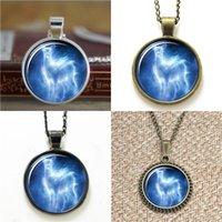 Wholesale Silver Deathly Hallows Pendant - 10pcs HP Snape's Silver Doe Patronus with Deathly Hallows Pendant Necklace keyring bookmark cufflink earring bracelet