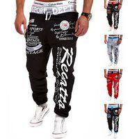 Wholesale Hiphop Wholesale Clothes - Wholesale-Men Clothing Hiphop Sweatpants Pants Jogger Fashion Casual Loose Baggy Harem Slacks Trousers Pants