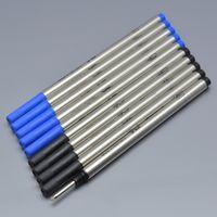 ingrosso ricaricare la penna d'inchiostro blu-Vendita calda 10 pezzi di alta qualità mb refill nero e blu per la penna roller penna ricarica scrittura liscia accessori speciali inchiostro