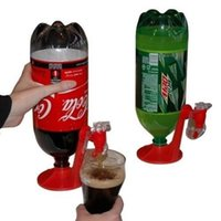 Wholesale New Coke Dispenser - NEW Kitchen Water tools Machine Drinking Soda Gadget Coke Party Drinking Dispenser Cola bottle Support F5G8