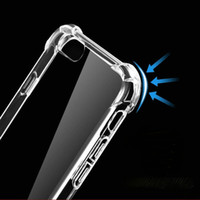 Wholesale iphone water protect case resale online - High Quality TPU HD Transparent Cover UNBreak Soft Phone Case for iphone s splus plus iphone protect Cases