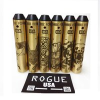 Brass Rogue USA kit Фиш-акула-сова-медведь-лев Стили гримасы Механический модем с комплектами сигарет Rogue Force Atomizer DHL бесплатно