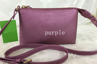 Wholesale Purple Cross Body Bag - 8 colors Brand Designer PU mini Shoulder Crossbody cross body Bags Female phone bag